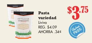 Pasta Variedad Liviva