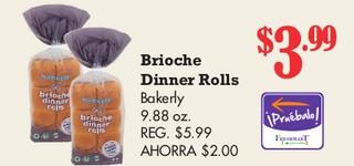 Brioche Dinner Rolls Bakerly