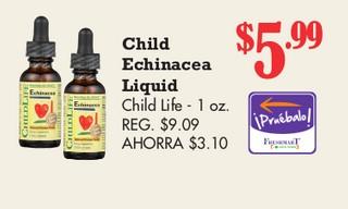 Child Echinacea Liquid Child Life