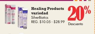 Healing Products Variedad SilverBiotics