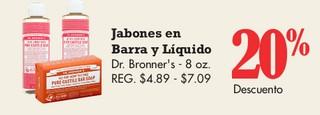 Jabones Barra y Liquido Dr. Bronner's