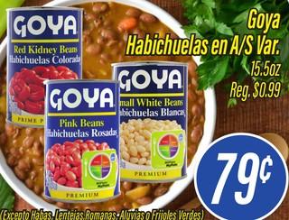 Goya Habichuelas en A/S Var.