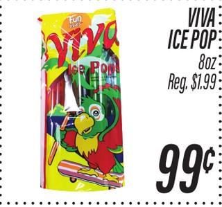 Viva Ice Pop 8 oz