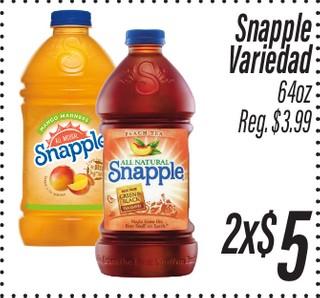 Snapple Variedad 64 oz
