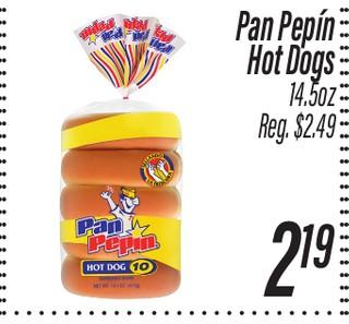 Pan Pepin Hor Dog 14.5 oz