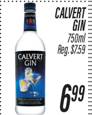 Calvet Gin 750 ml