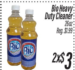 Bio Heavy Duty Cleaner 26 oz