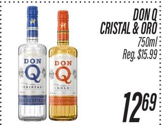Don Q Cristal & Oro